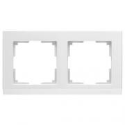 Werkel WL04-Frame-02-white Рамка на 2 поста белый