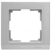 Werkel WL04-Frame-01 /Рамка на 1 пост серебряный