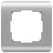 Werkel WL12-Frame-01 Рамка на 1 пост серебряный