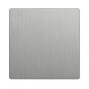 Werkel WL09-SW-1G-C-CP Клавиша для выключателя перекрестного серебряный рифленый