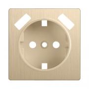 Werkel WL10-USB-CP Накладка для розетки USB шампань рифленый