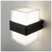 Maul черный уличный настенный светодиодный светильник