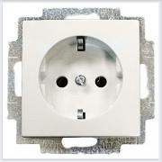 Розетки и выключатели ABB - Розетки и выключатели Basic 55 - ABB Basic 55 Шале белый - 20 EUC-96-507