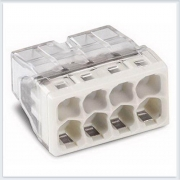 WAGO Клемма монтажная на 8 проводника сечением до 2, 5 мм кв. ( алюм+ медь) - 2273-248
