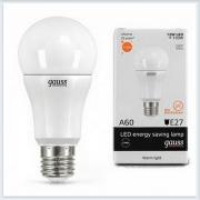 Лампа светодиодная 12W E27 3000K gauss Elementary 23212 - купить лампу
