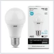 Лампа светодиодная 10W E27 4100K gauss Elementary 23220 - купить лампу