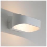 Point белый уличный настенный светодиодный светильник