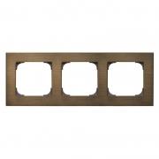 АББ - Рамка - ABB - Sky - Скай - Рамка декоративаная - Рамка для выключателей - Рамка для розеток - Рамка для электроустановочных устройств - 2CLA857300A1201