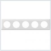Рамка 5-ая Белый глянец Legrand Celiane 66630