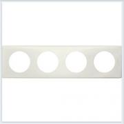 Рамка 4-ая Перкаль белый Legrand Celiane 66704