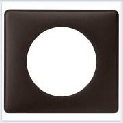 Рамка 1-ая Перкаль черная Legrand Celiane 66741