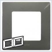 Рамка 2-ая светлая галька Legrand Etika 672522