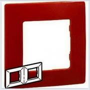 Рамка 2-ая красная Legrand Etika 672532