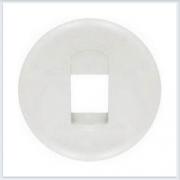 Накладка 1-ой аудиорозетки белая Legrand Celiane 68211