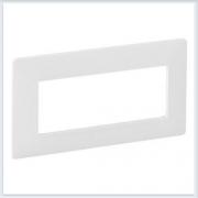 Valena Life Рамка 5-модулей Белая 754006