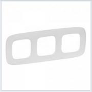 Valena Allure Рамка 3-ая Белая 754303