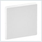 Накладка для выключателей одноклавишных Белая Valena Life 755000