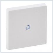 Клавиша для выключателя одноклавишного с подсветкой/индикацией Белая Valena Life 755100