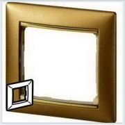 Рамка 1-я матовое золото Legrand Valena 770301