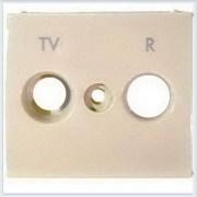 Накладка TV-FM розетки (стандарт Hirshman) Слоновая кость Legrand Valena 774342