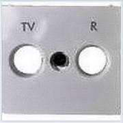 Накладка TV-FM розетки (стандарт Hirshman) Белый Legrand Valena 774442
