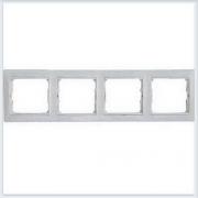 Рамка 4-ая белая Legrand Valena 774454