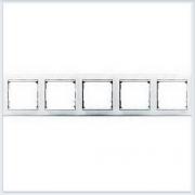 Рамка 5-ая белая Legrand Valena 774455