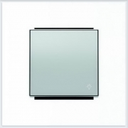 Кнопки - АББ - ABB - Sky - Скай - Клавиша для выключателя - Переключателя - Накладка для выключателей - диммеров - жалюзийных переключателей - таймеров - 2CLA850420A1301