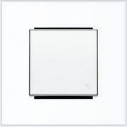 Кнопки - АББ - ABB - Sky - Скай - Клавиша для выключателя - Переключателя - Накладка для выключателей - диммеров - жалюзийных переключателей - таймеров - 2CLA850400A1101
