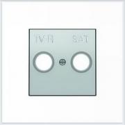 АББ - ABB - Sky - Скай - Лицевая панель - Тв розетки - Спутниковой розетки - Центральная плата - Накладка для телевизионной розетки - Накладка - вставка - механизм для коммуникационных устройств - 2CLA855010A1301