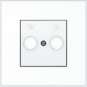 АББ - ABB - Sky - Скай - Лицевая панель - Тв розетки - Центральная плата - Накладка для телевизионной розетки - Накладка - вставка - механизм для коммуникационных устройств - 2CLA855000A1101