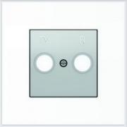 АББ - ABB - Sky - Скай - Лицевая панель - Тв розетки - Центральная плата - Накладка для телевизионной розетки - Накладка - вставка - механизм для коммуникационных устройств - 2CLA855000A1301