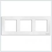 АББ - Рамка - ABB - Sky - Скай - Рамка декоративаная - Рамка для выключателей - Рамка для розеток - Рамка для электроустановочных устройств - 2CLA857310A1101