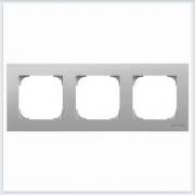 АББ - Рамка - ABB - Sky - Скай - Рамка декоративаная - Рамка для выключателей - Рамка для розеток - Рамка для электроустановочных устройств - 2CLA857300A1401