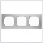 АББ - Рамка - ABB - Sky - Скай - Рамка декоративаная - Рамка для выключателей - Рамка для розеток - Рамка для электроустановочных устройств - 2CLA857300A1301