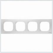 АББ - Рамка - ABB - Sky - Скай - Рамка декоративаная - Рамка для выключателей - Рамка для розеток - Рамка для электроустановочных устройств - 2CLA857400A1101