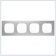 АББ - Рамка - ABB - Sky - Скай - Рамка декоративаная - Рамка для выключателей - Рамка для розеток - Рамка для электроустановочных устройств - 2CLA857400A1301