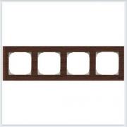 АББ - Рамка - ABB - Sky - Скай - Рамка декоративаная - Рамка для выключателей - Рамка для розеток - Рамка для электроустановочных устройств - 2CLA857400A2101