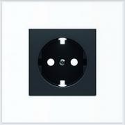 АББ - Розетка - ABB - Sky - Skymoon - Скай - Скаймун - Мун - Moon - 222316 - Электроустановочные изделия - Розетка силовая (штепсельная) - 2CLA858890A1501