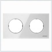АББ - Рамка - ABB - Skymoon - Скаймун - Рамка декоративаная - Рамка для выключателей - Рамка для розеток - Рамка для электроустановочных устройств - 2CLA867200A3001
