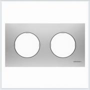 АББ - Рамка - ABB - Skymoon - Скаймун - Рамка декоративаная - Рамка для выключателей - Рамка для розеток - Рамка для электроустановочных устройств - 2CLA867200A4001