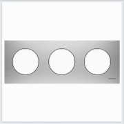 АББ - Рамка - ABB - Skymoon - Скаймун - Рамка декоративаная - Рамка для выключателей - Рамка для розеток - Рамка для электроустановочных устройств - 2CLA867300A4001