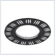 Точечный Светильник для натяжных - подвесных и реечных потолков круглый Gauss Aluminium - AL018