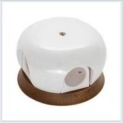 Bironi распределительная коробка фарфор перламутр 86мм B2-521-010/18