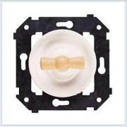 Bironi перекрестный выключатель, цвет белый, Коллекция шедель B3-203-21