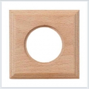 Bironi рамка одноместная квадрат, натурель Коллекция шедель BF4-610-10