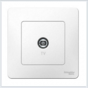 Blanca Белый Розетка TV
