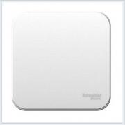 Blanca Белый Выключатель 1-клавишный, 6А, 250В