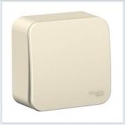 Blanca Молочный Выключатель 1-клавишный 6А, 250В
