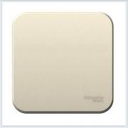 Blanca Молочный Выключатель 1-клавишный 10А, 250B